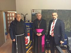 Posjet dubrovačkog biskupa Msgr. Mate Uzinića Dubrovačkom primorju