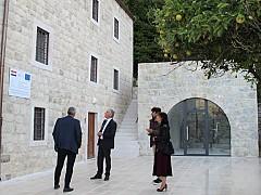 Župan Dobroslavić s ravnateljicom DUNEA-e Milić obišao prostor buduće Zavičajne kuće Dubrovačkog primorja