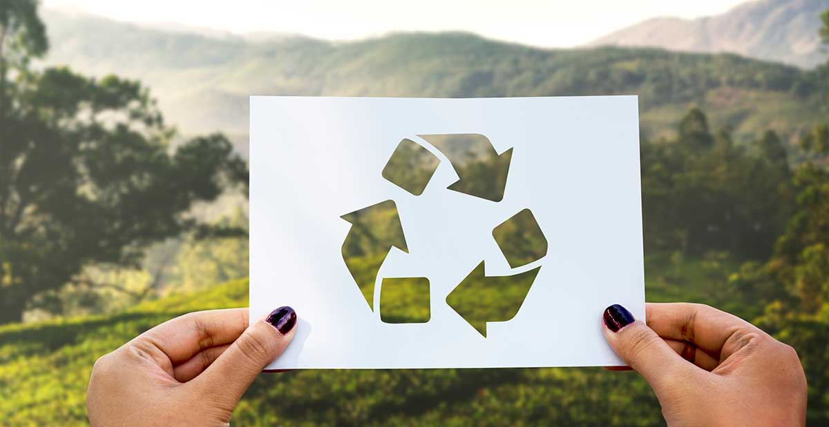 Recikliranje ilustracija